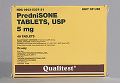 allergic reactions to prednisolone
